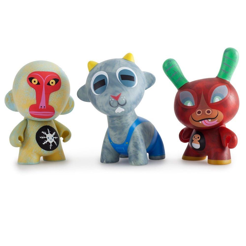 "Kidrobot x Amanda Visell FERALS Mini Series BUCK WETHERS 3/"" Vinyl Figure"