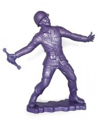 Big Army Man by Frank Kozik – Purple Edition